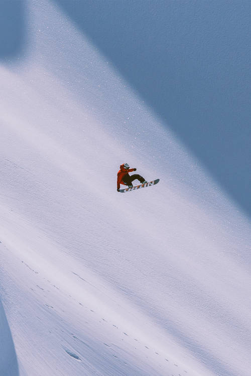 Mountaineering meets steep riding