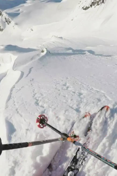 Richard Permin – Skiing POV II