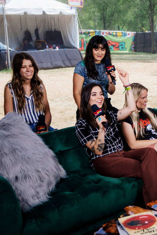 Interview with The Aces