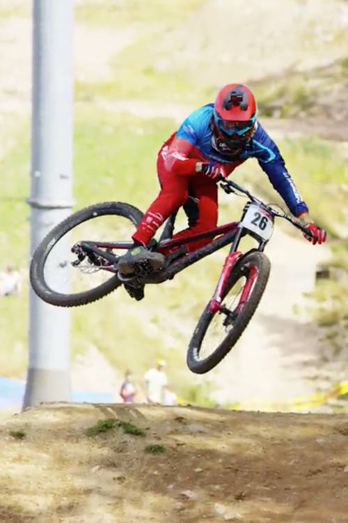 Downhill practice highlights from La Bresse