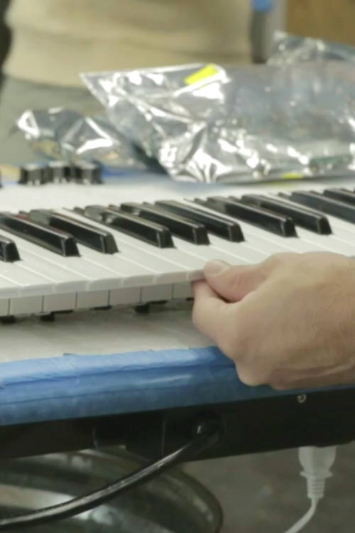 Inside the Moog synthesiser factory