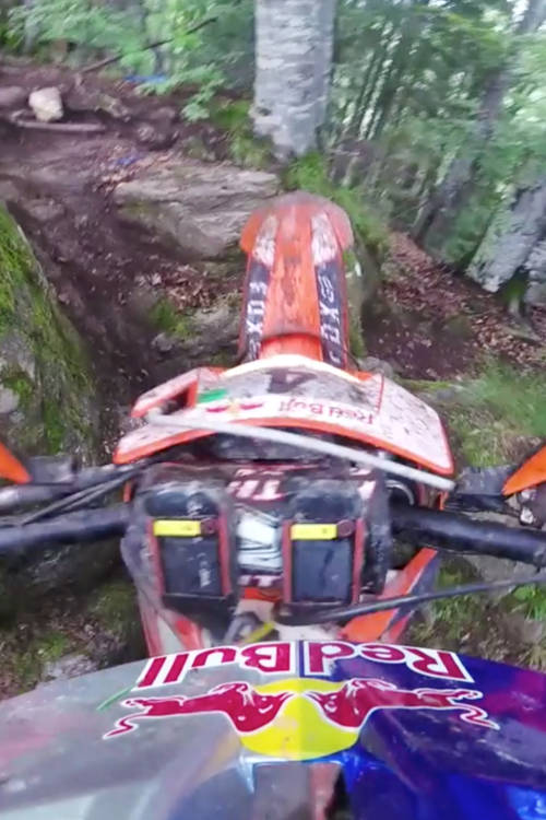 Off-road with Manuel Lettenbichler