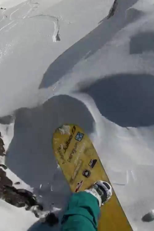Women's Snowboard Winning Run – Vallnord