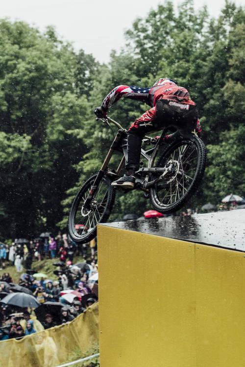 Men's DHI Action – Mont-Sainte-Anne