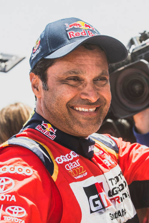 Nasser Al-Attiyah wins car category