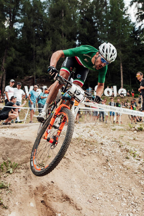 Women's XCO finals from Val di Sole