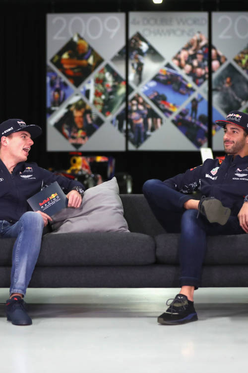 Looking back on 2017 with Max and Daniel