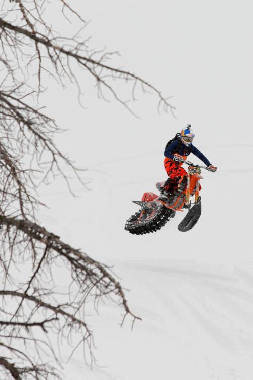 Backcountry Snowbiking