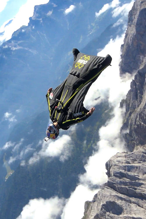 Soul Flyers in the Dolomites