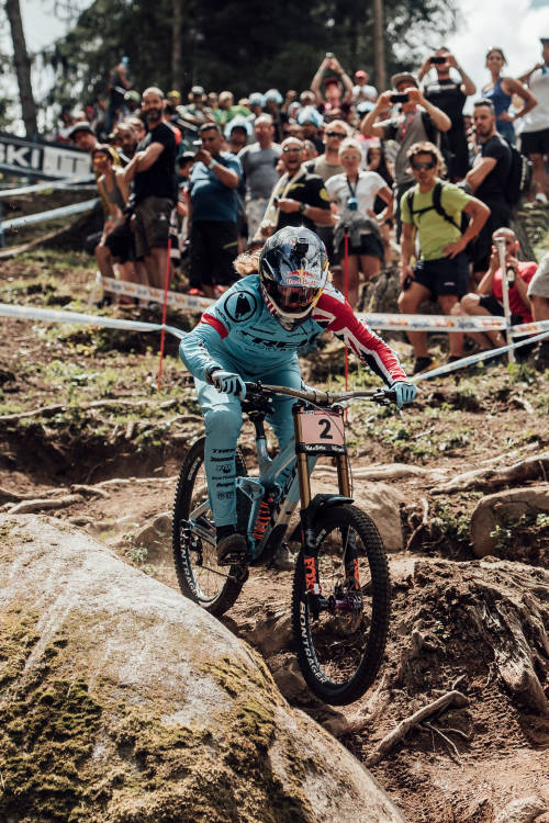 Rachel Atherton's DH run at Val di Sole