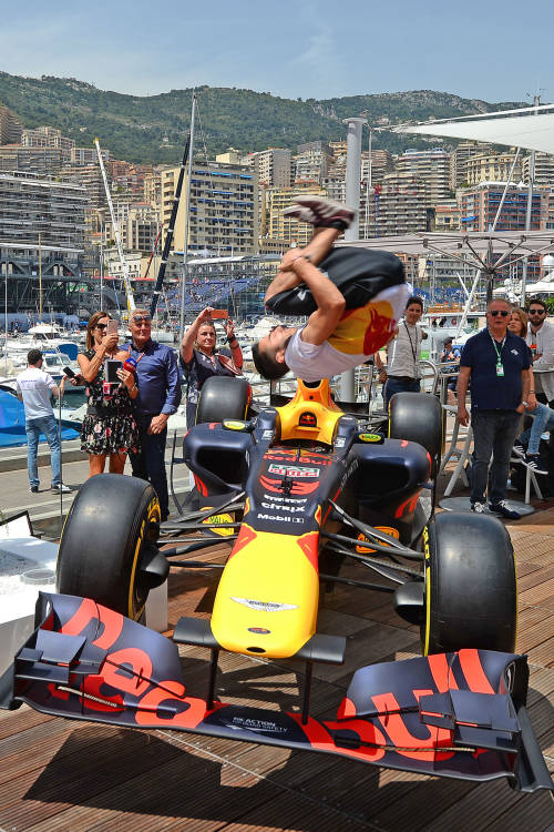 B-Boying in Monaco