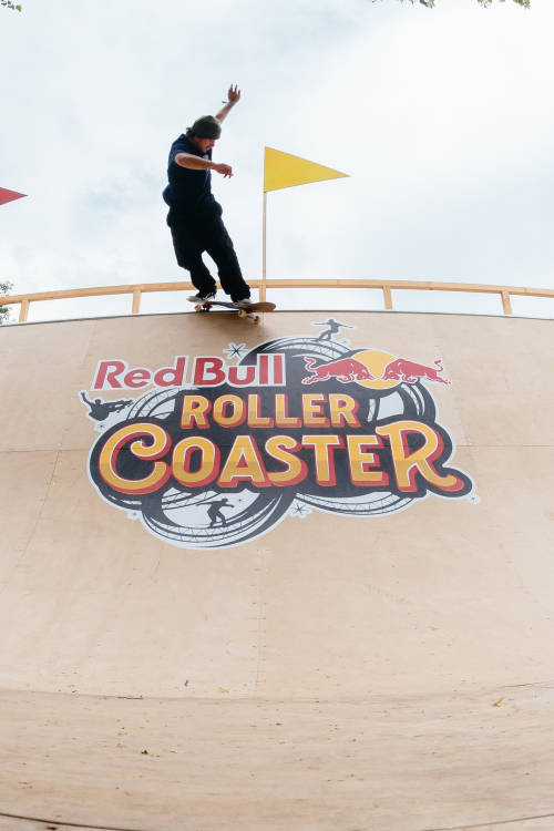 Pedro Barros at Red Bull Roller Coaster
