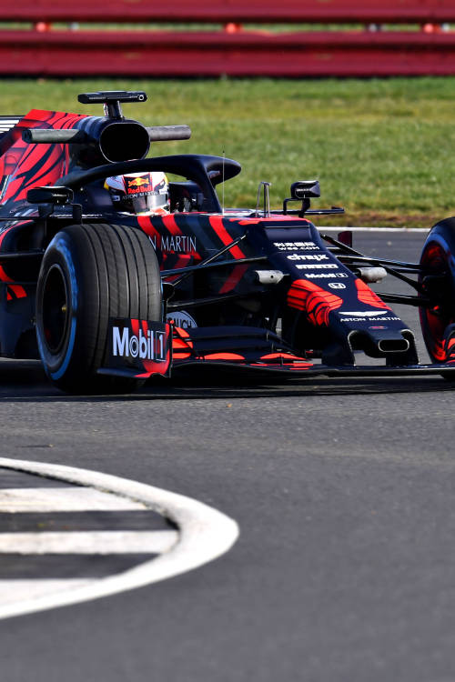Max Verstappen unleashes the RB15