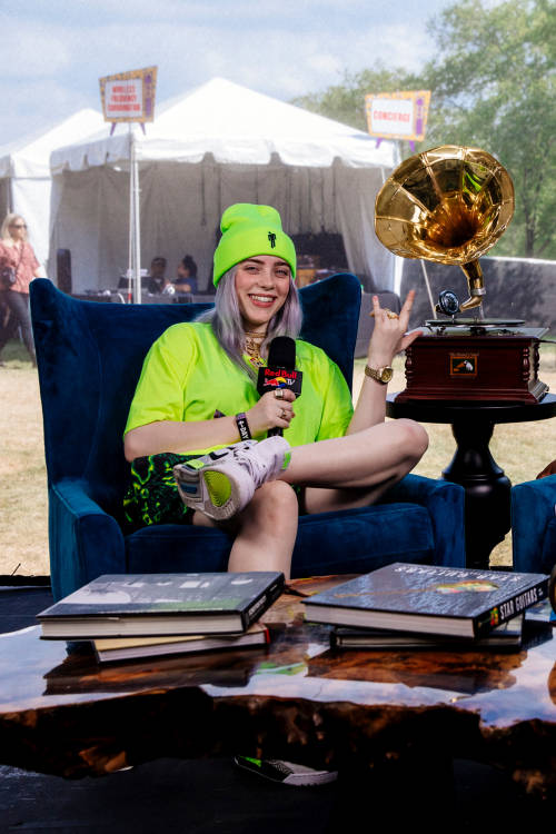 Interview with Billie Eilish