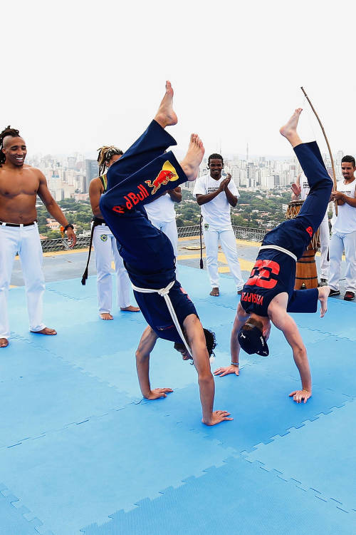 Capoeira circle