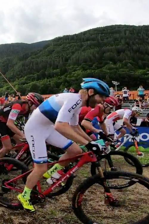 Men's XCC short track POV - Val di Sole