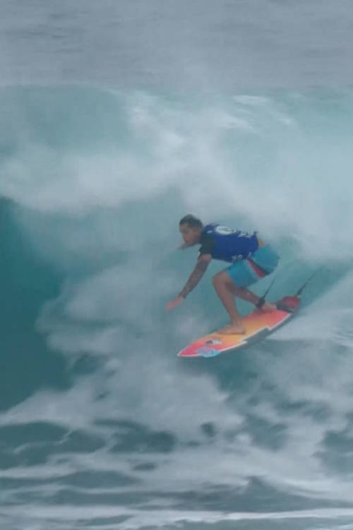 Billy Kemper's best wave of day 2