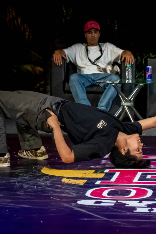 B-Girls semi-final 1: Shivani vs Flowraw