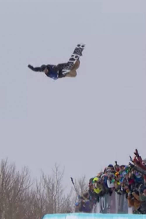 Raibu Katayama – 2nd Place Halfpipe Run