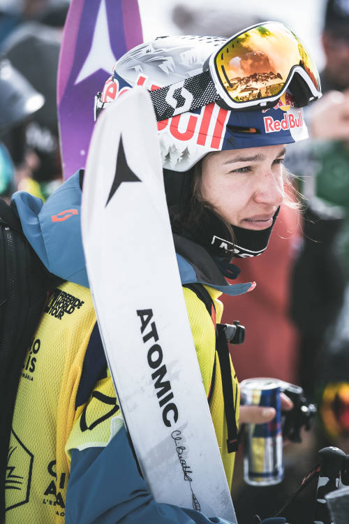 Arianna Tricomi's POV ski run – Andorra