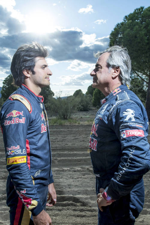 Sainz vs Sainz: Like Father, Like Son