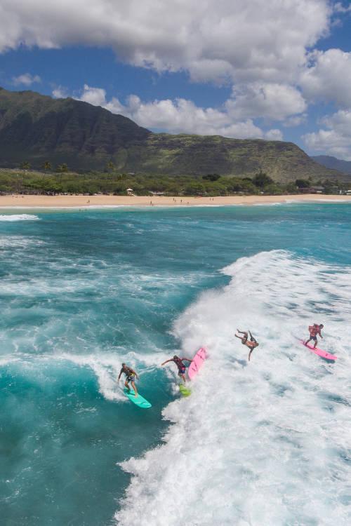 POV surfing with Jamie O'Brien