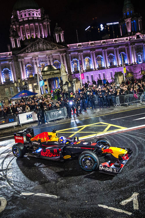The F1 show comes to Belfast