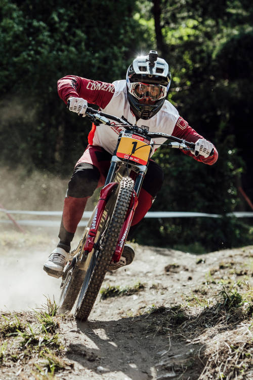 Men's DH 2nd place run – Vallnord
