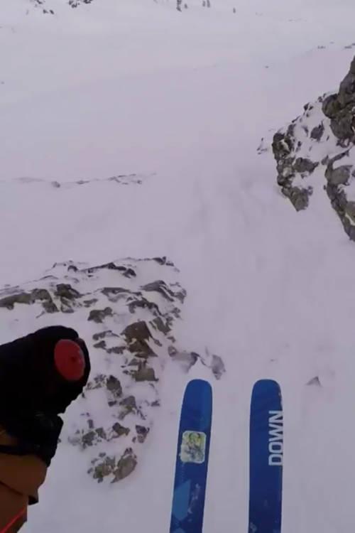 Men's Ski Winning Run – Fieberbrunn, Austria