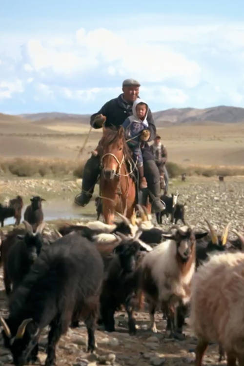 Filming in Mongolia