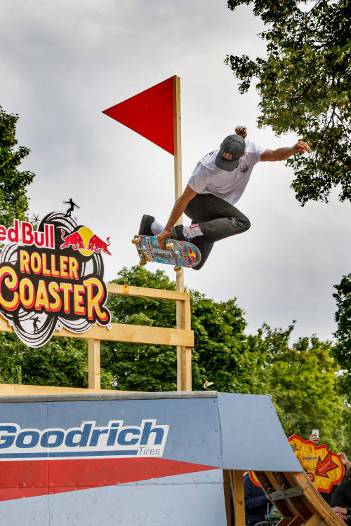 Danny León at Red Bull Roller Coaster