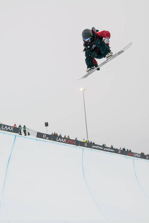 Women's halfpipe – Jiayu Liu's winning run