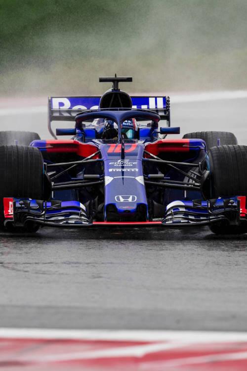 Scuderia Toro Rosso STR13 Debut