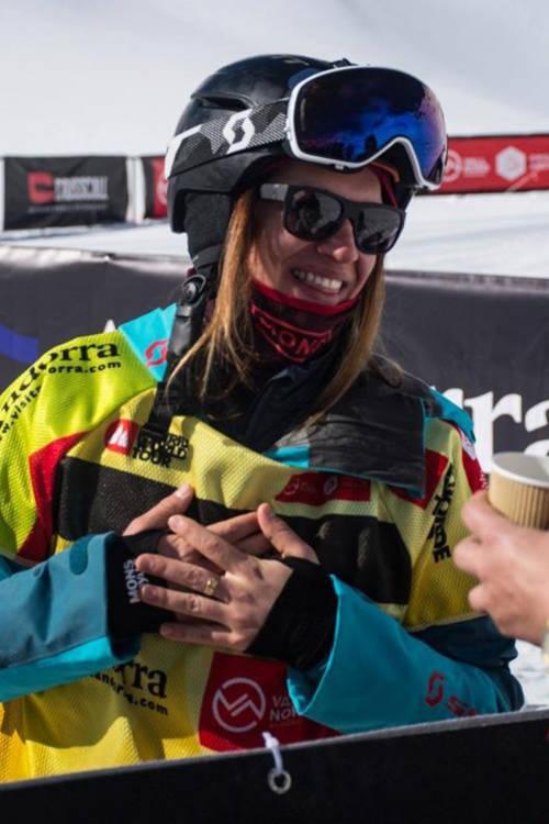 Arianna Tricomi's winning ski run –Japan