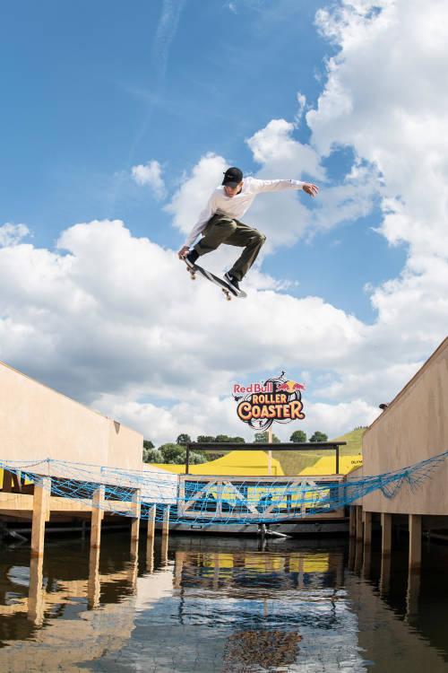 Jake Ilardi at Red Bull Roller Coaster