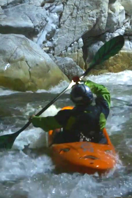 Underground Kayaking