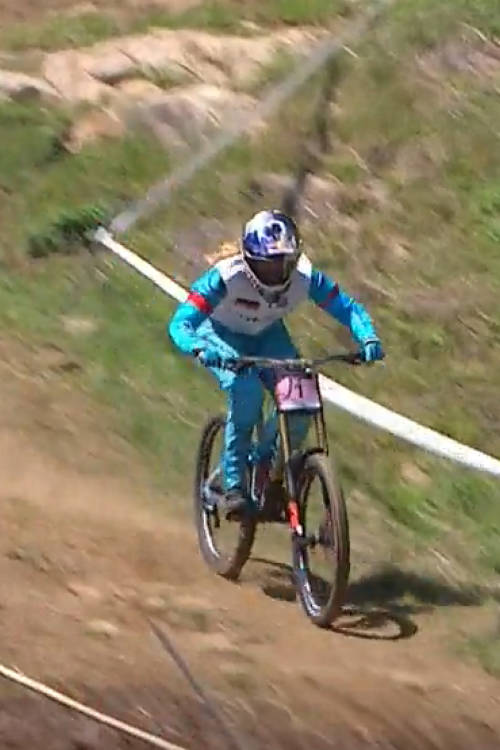 Women's DH winning run – Mont-Sainte-Anne