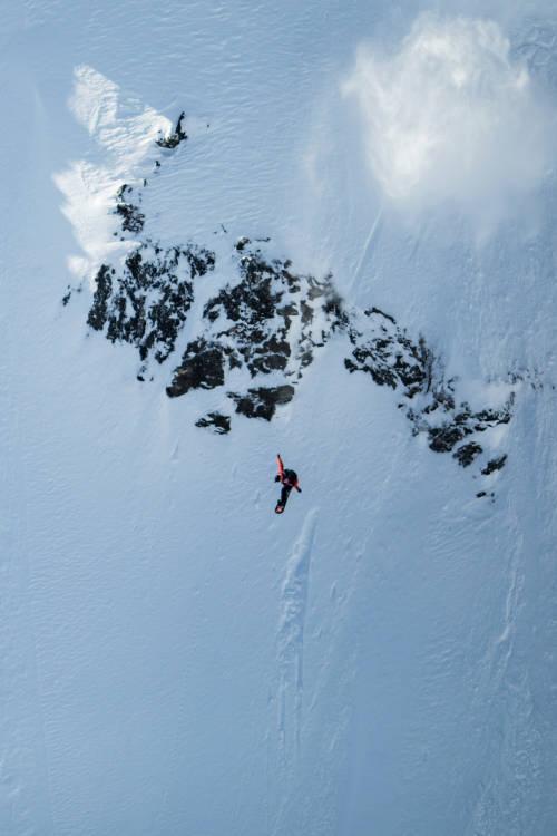 Sammy Luebke's Snowboard Run – Verbier