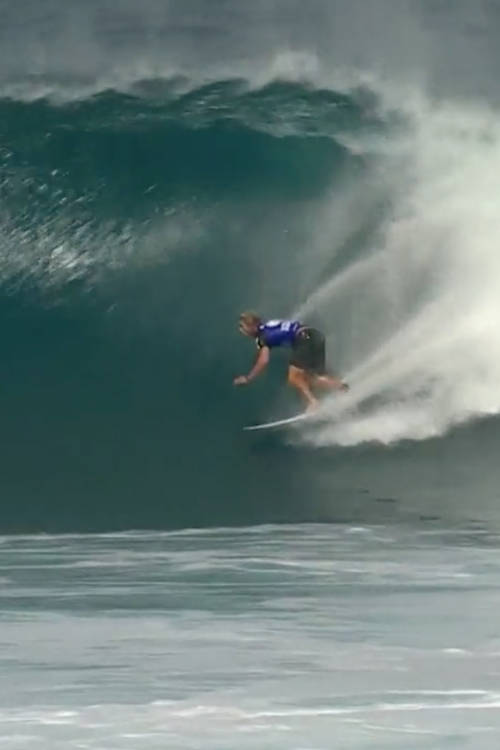 Skip McCullough's best wave of round 5