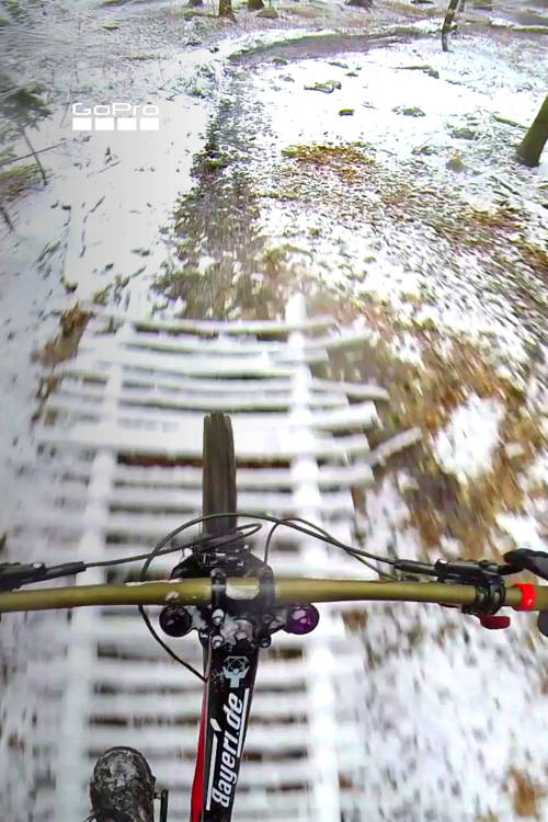 Snowy DH Mountain Biking