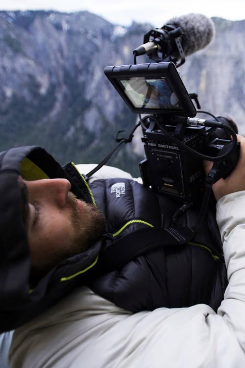 Filming on El Capitan