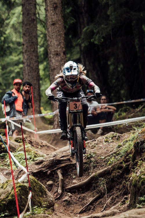 Women's DH 1st place run – Val di Sole