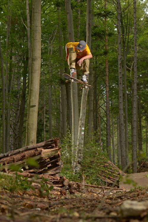 Wheels on Woods