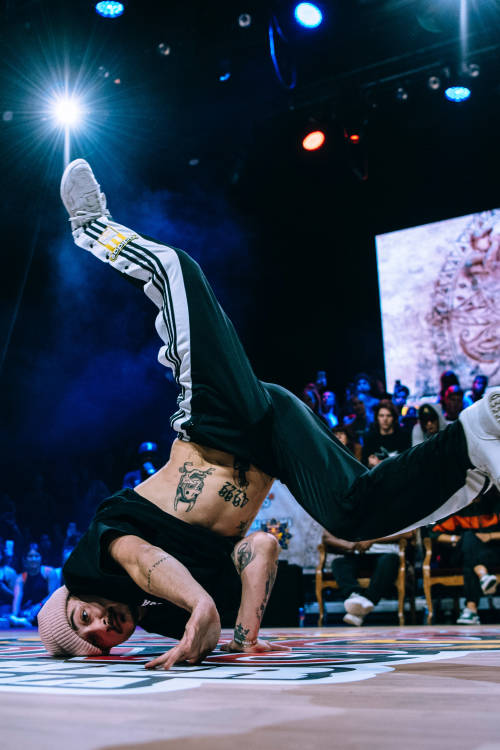 B-Boys final: Harlekin vs Cicov