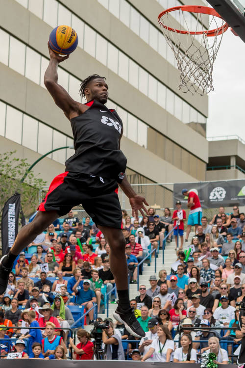 Saskatoon Masters dunk contest highlights