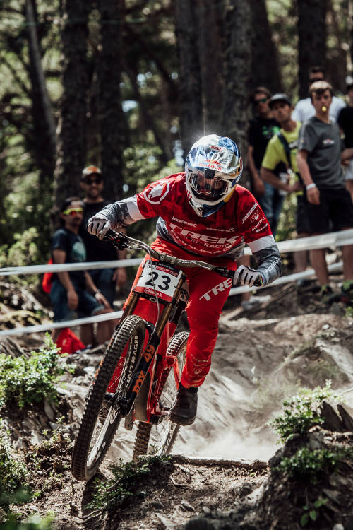 Gee Atherton's run – Vallnord