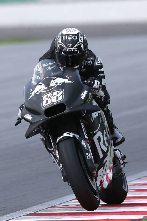 Test runs in Sepang