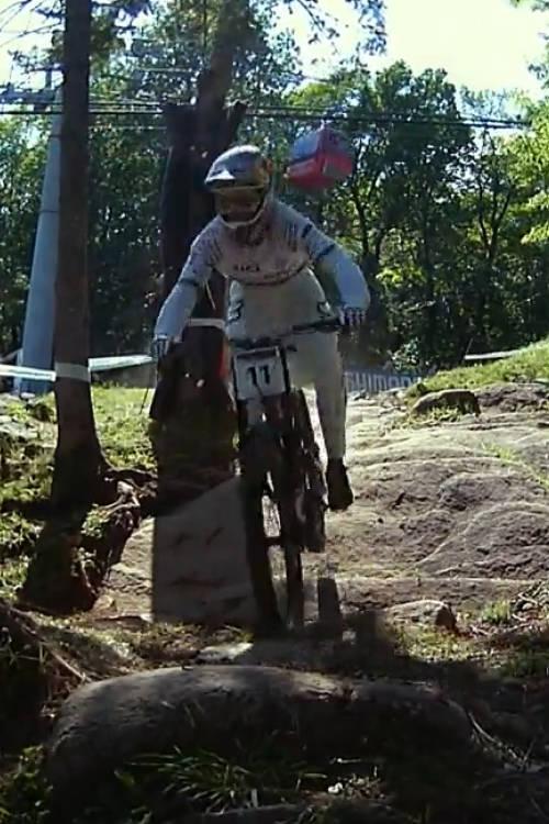 Men's DH winning run – Mont-Sainte-Anne