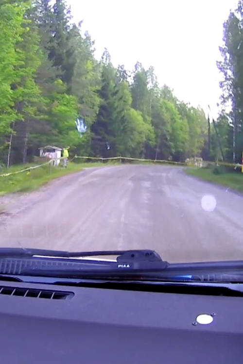 Jari-Matti Latvala's shakedown – Finland