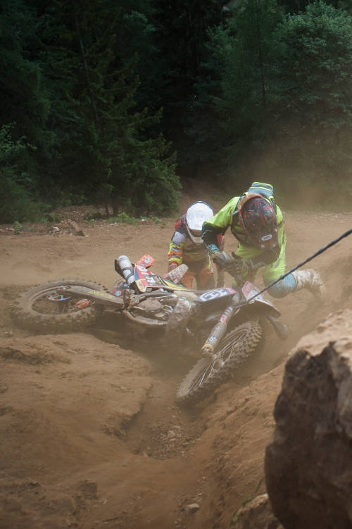 Tribute to the amateur riders